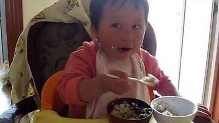 辰辰最怕的吃饭