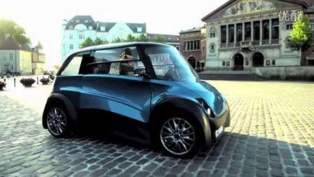 「ECOmove」创新型城市电动车QBEAK:开心驾驶