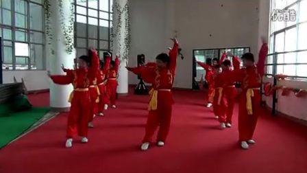 中小学系列武术健身操《旭日东升》
