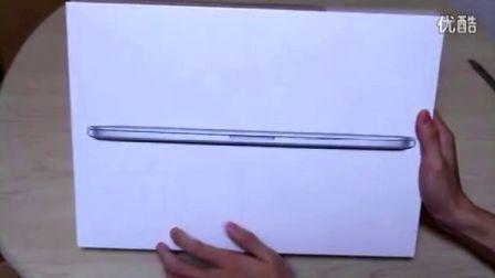 【zell出品】retina macbook pro 开箱