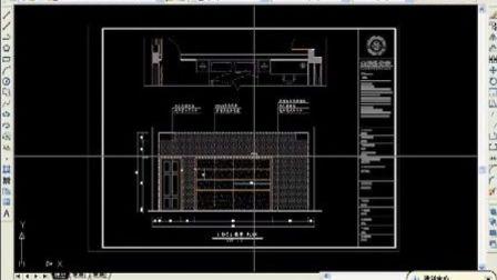 autocad立面图(室内设计教程)室内设计学习视频 厦门室内设计培训