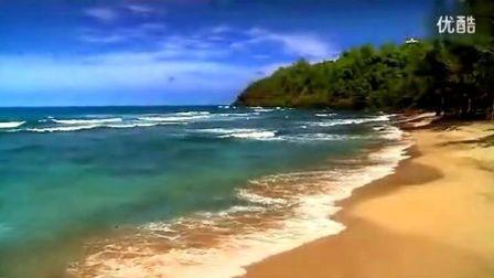 迷人的夏威夷海边风景