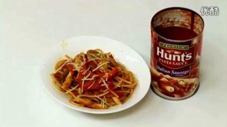 意式香肠鸡肉面【康家出品】