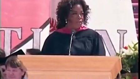 【彭剑原创字幕作品】美国大学毕业典礼演说.Oprah Winfrey.斯坦福大学.2008