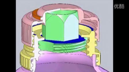 螺纹伸缩式瓶口