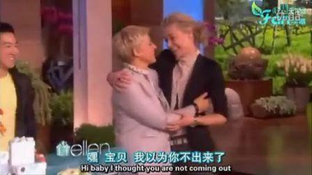 Portia on Ellen show.Ellen's.Birthday.Show2012