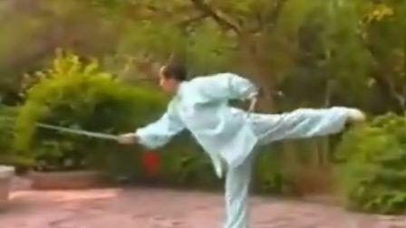朱俊昌30式抒怀剑《知音》教学