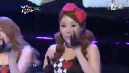 Sexy Love - Mnet M!CountDown现场版 12-09-13--T-ara