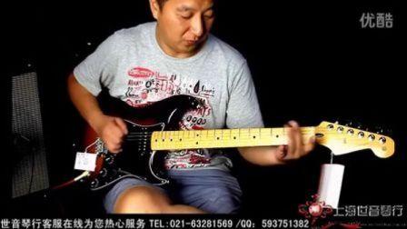 FENDER strat 014-0011墨芬电吉他试听【世音琴行】