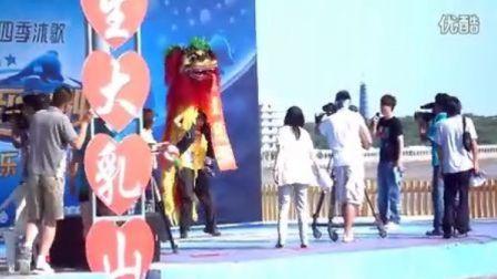 2010-6-21夏西村秧歌队演员 于淼群参加《快乐向前冲》第7周周冠军赛