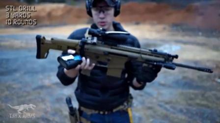 小马哥, 带你见识MK17步枪2秒打10发高速射击。