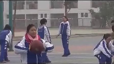 高二体育篮球成都石室白马中陈国跃课堂实录与说课