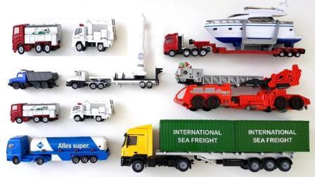 混凝土车和集装车的内部构造
