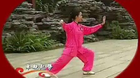 段位制杨式太极拳三段单练套路