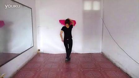 鲁山 鹤馨广场舞 亲亲茉莉花 扇子舞 分解动作背面演示 口令