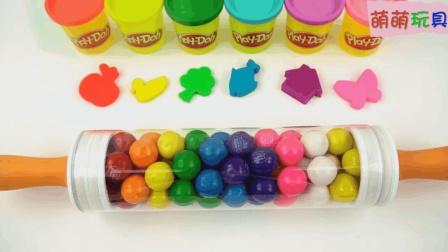 趣味亲子小印章, 培乐多彩泥创意新玩法, 早教色彩培养宝宝想象力