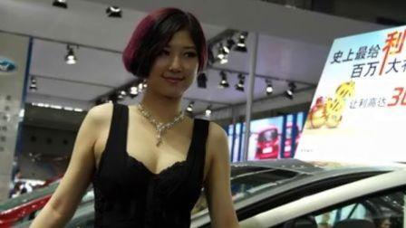 東風標致汽車  青春車模 2012年深圳汽車嘉年華