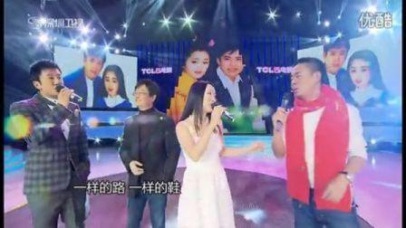 杨钰莹孙浩李海鹰毛宁深圳卫视年代秀合唱《我不想说》相关的图片