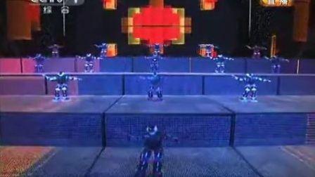 2012央视春晚机器人--博乐机器人表演[www.boole-tech.com]