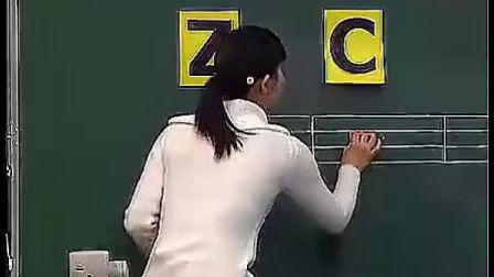汉语拼音zcszicisi新课程小学一年级上册语文优质展示示范课名师课堂实录