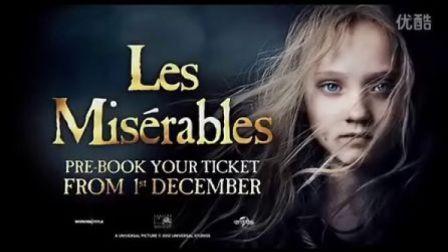 Les Miserables悲惨世界最新预告片