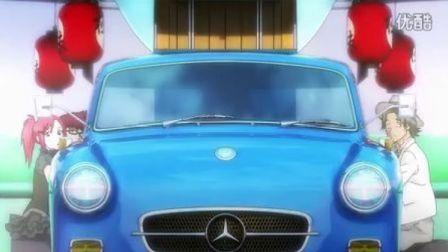 奔驰 A-Class 日本动画广告