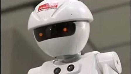 会踩单车的机器人--博乐机器人表演[www.boole-tech.com]