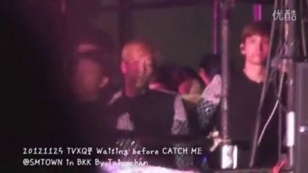 【MUKCM】121125 TVXQ_ Waiting before CATCH ME SMTOWN in BK