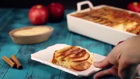 肉桂烤苹果, 肉桂醇厚的香气配上苹果的酸甜, 简直就是绝配!