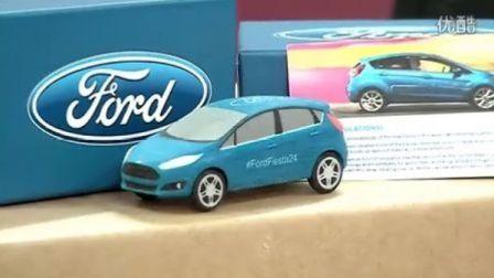 3D派报道:3D打印福特嘉年华汽车模型全过程