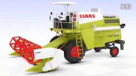 CLAAS CROP TIGER 60的工作流程