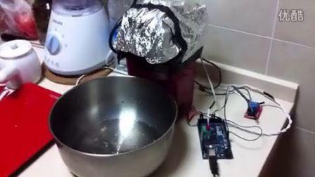 DIY自动咖啡豆烘焙机