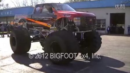 BIGFOOT First Electric Monster Truck Car Crush
