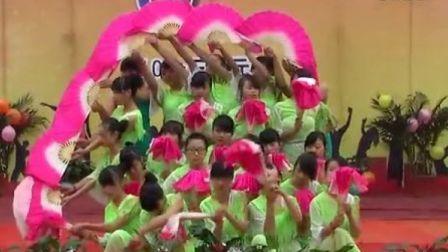 扇子舞 《茉莉花》赤水市职业教育培训中心举行2013年迎新活动
