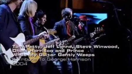 Prince, Tom Petty - While My Guitar Gently Weeps