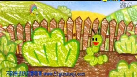 早教英语 幼儿英语 启蒙英语 英语动画片 Get_Squiggling!_03_Caterpilla