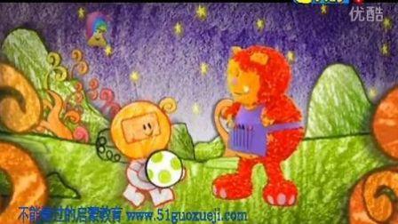 早教英语 幼儿英语 启蒙英语 英语动画片 彩色花园Get_Squiggling!_-08_Space