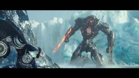 环太平洋2雷霆再起18年最新的科幻电影, 比第一部精彩很多