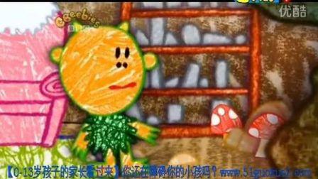 早教英语 幼儿英语 启蒙英语 英语动画片 彩色花园Get_Squiggling!_-14_Monst