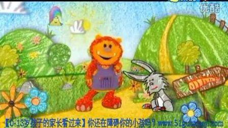 早教英语 幼儿英语 启蒙英语 英语动画片 彩色花园Get_Squiggling!_-18_Hare_