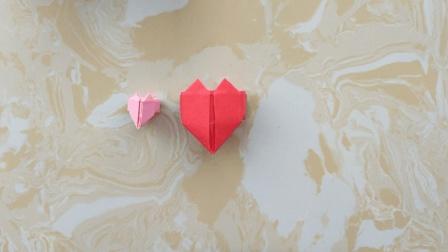 爱心系列: 静静教你爱心戒指的折法, 折一枚表白你爱的人吧!