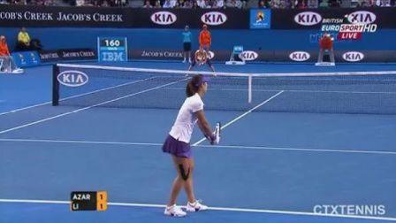 2013澳大利亚网球公开赛女单决赛 阿扎伦卡VS李娜 (自制HL)