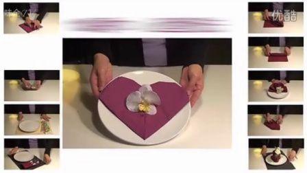 【味全】餐巾布置 DIY