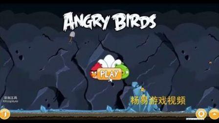 愤怒的小鸟-MINE AND DINE【矿洞的晚餐】-三星攻略视频【共45关】