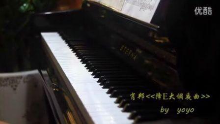 肖邦降E大调夜曲