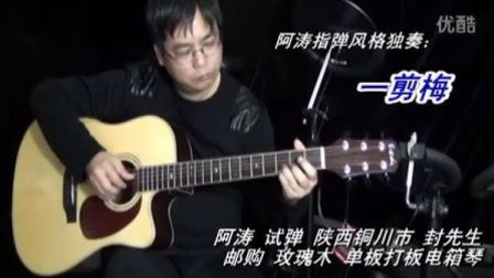 一剪梅  阿涛吉他指弹独奏