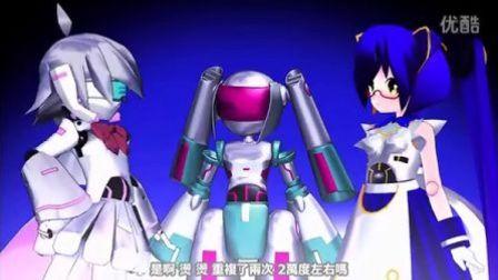 直白标题机器人动画DIYIHUA 02【超清字幕】