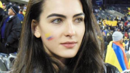 俄罗斯世界杯第美女或许不再现场 但真人更美