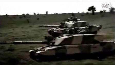 不列颠陆军重装骑兵-挑战者2主战坦克演习视频(集群冲锋)