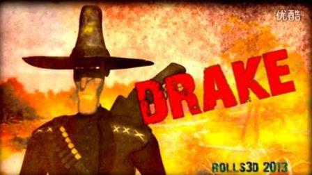 Drake - The Dark Cowboy - 3D Model - 2012